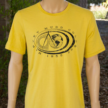 Canvas T-Shirt Maize Yellow With Seal