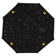 Reinforced Telescoping Umbrella