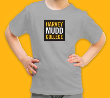 Grey kids tee with HMC logo