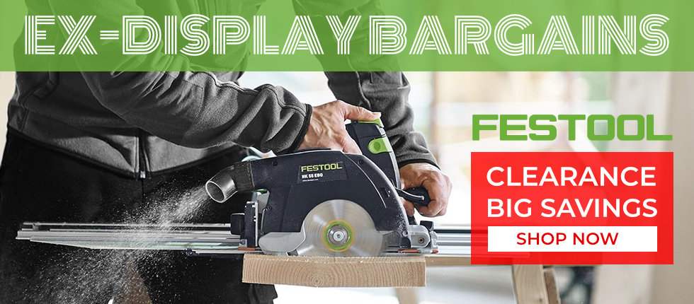 Ex-Display Bargains - Festool