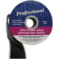 Ultratape DPC Double Sided Butyl Tape 50mm x 10m Roll
