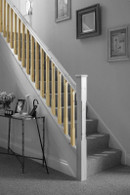 Cheshire Mouldings Stop Chamfered Pine Stair Spindles  ST9041P