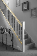 Cheshire Mouldings Low Profile Handrail Baserail Pine