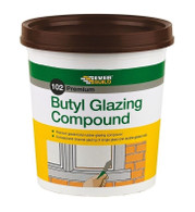 Everbuild 102 Butyl Glazing Compound Brown - 2kg