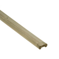 Clearview Decking Rail Capping Piece