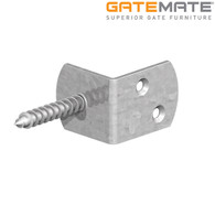 Gatemate galvanised screw in fence clips