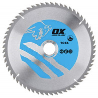 OX Aluminium/Plastic/Laminate Circular Saw Blade (OX-TCTA)
