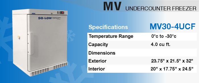 MV25-4UCF Undercounter Freezer