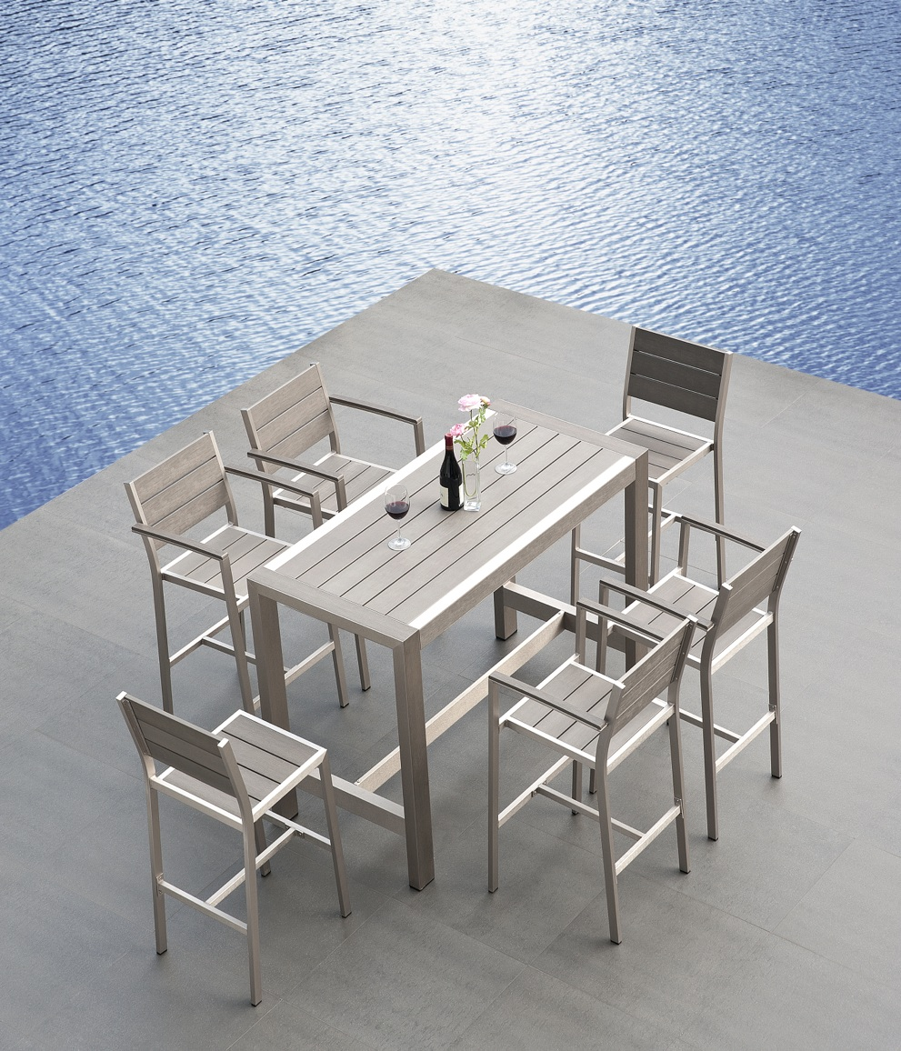 modern outdoor patio furniture dining sets contemporary sectional