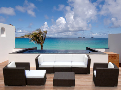 Modern Patio Furniture modern outdoor sectional