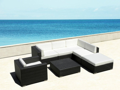 outdoor 7pc sectional sofa set i shop now i free shipping