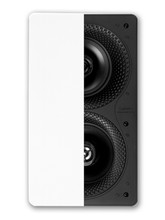 "Disappearing dual 5.5"" In-wall Bipolar Speaker ea"