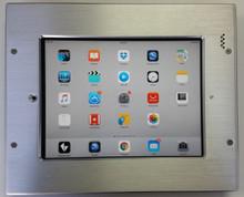 "iDocx iPad 9.7"" Tamper Resistant Inwall Mount - Brushed Aluminium"