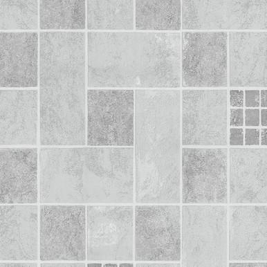 Fine Decor Ceramica Grey Kitchen/Bathroom Wallpaper  FD40117