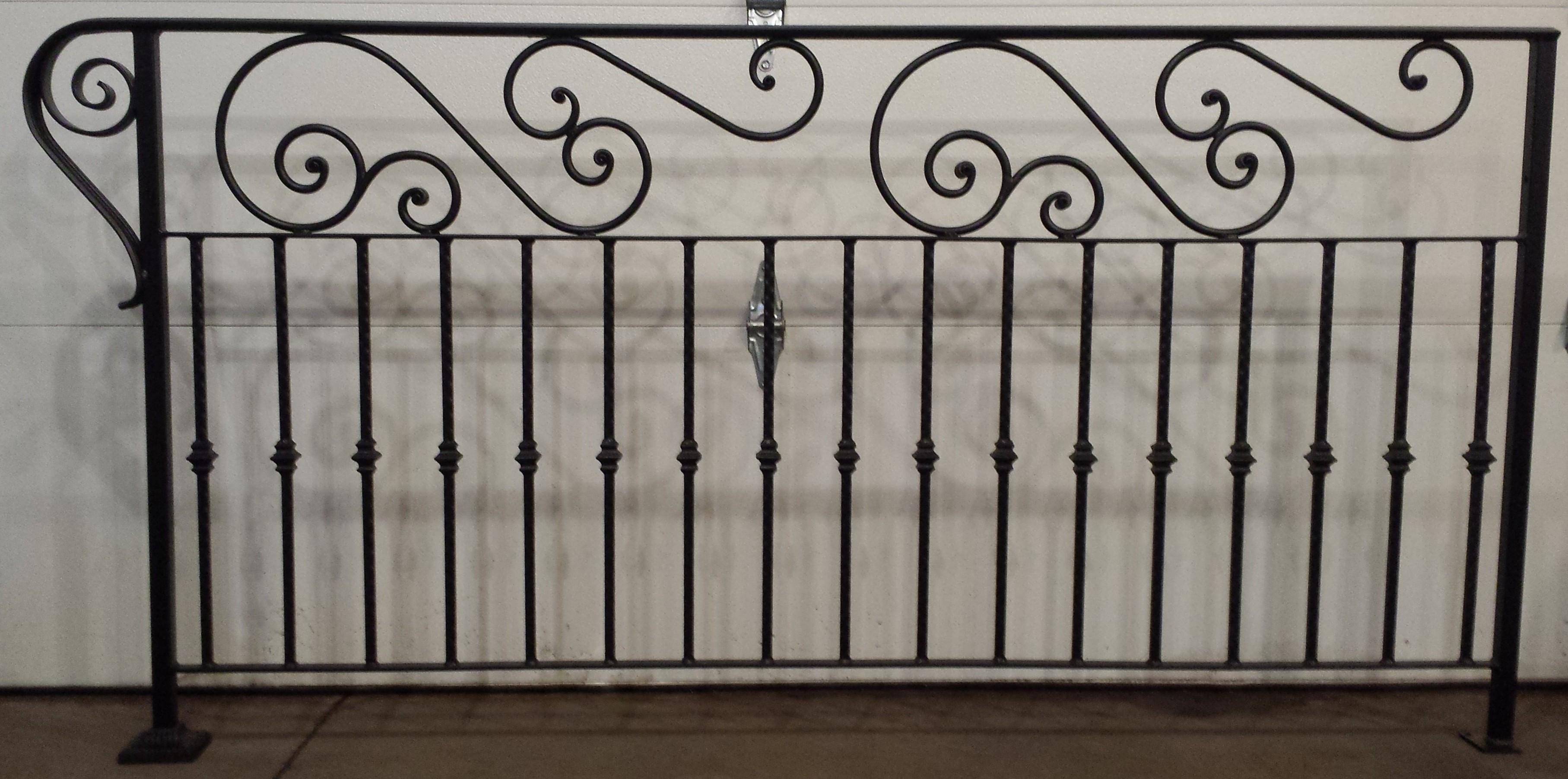 Decorative railings iron blog for Decorative railings