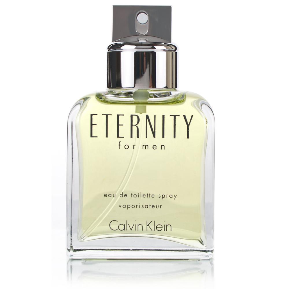 Eternity Cologne for Mens Calvin Klein Eau de Toilette Edt 3.4 oz