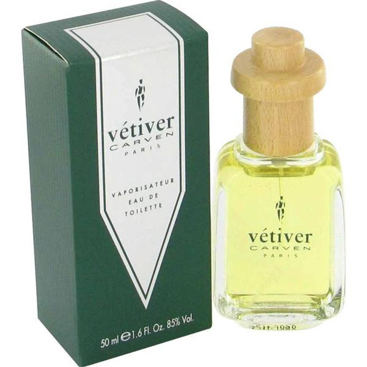 Vetiver Cologne for Men by Carven Edt Spray 1.7 oz
