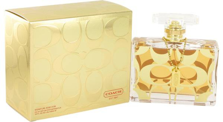 Signature Rose D'or Perfume Womens by Coach Edp Spray 3.4 oz