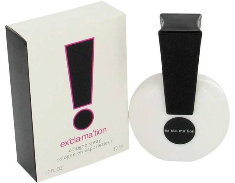 Exclamation Womens Perfume by Coty Edc Spray 1.7 oz