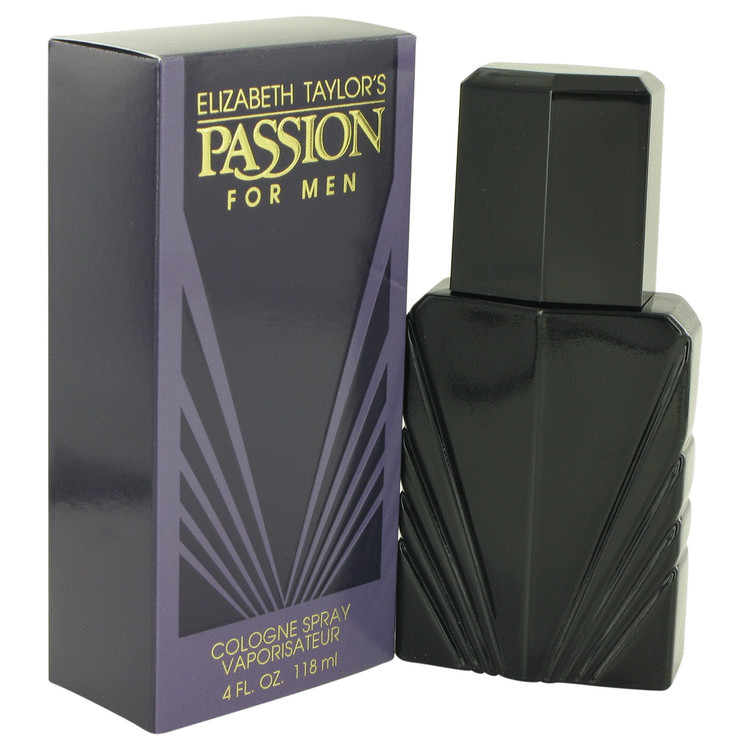 Passion for Men Cologne by Elizabeth Taylor Edc Spray 4.0 oz