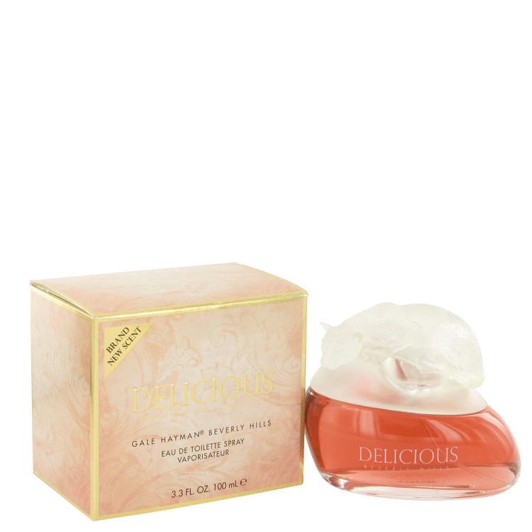 Delicious Women Perfume by Gale Hayman Edt Spray 3.3 oz