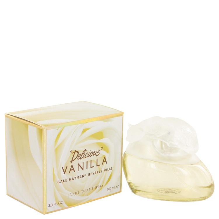 Delicious Vanilla Perfume by Gale Hayman Edt Spray 3.4 oz