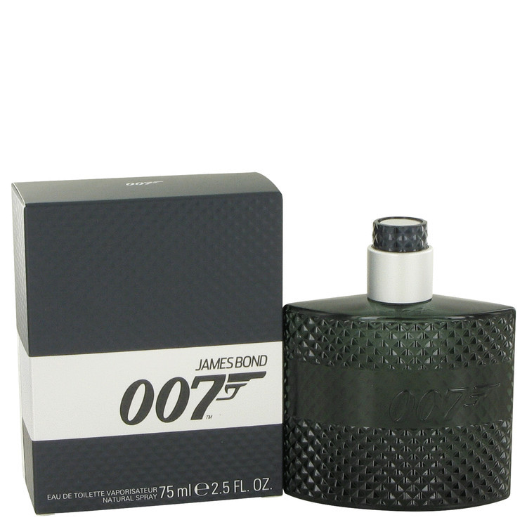 007 Cologne for Men by James Bond Edt Spray 2.5 oz