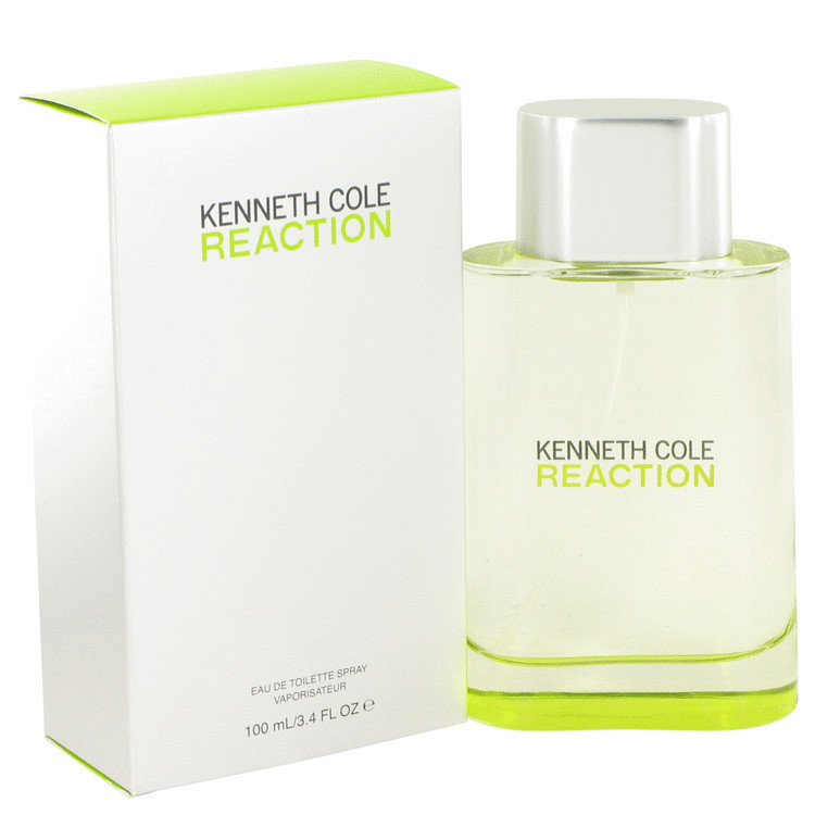 Kenneth Cole Reaction Cologne by Kenneth Cole for Men Edt Spray 3.4 oz