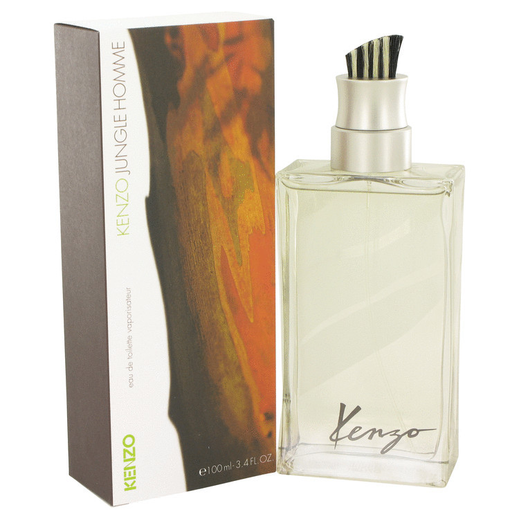 Jungle Cologne for Men by Kenzo Edt Spray 3.4 oz