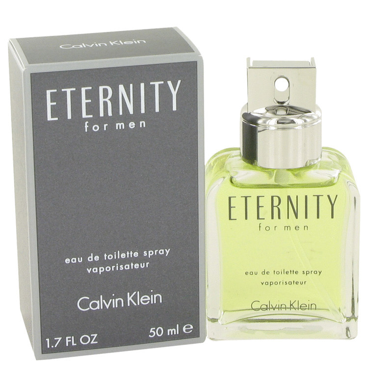 Eternity Cologne for Mens By Calvin Klein Edt Spray 1.7 oz