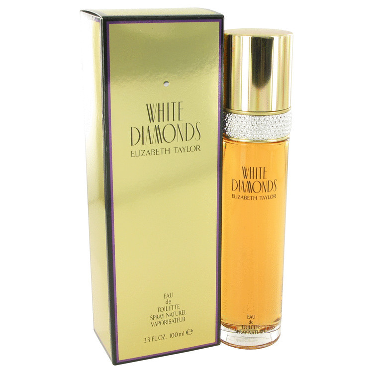 Womens White Diamonds Perfume By Elizabeth Taylor Edt Spray 1.0 oz