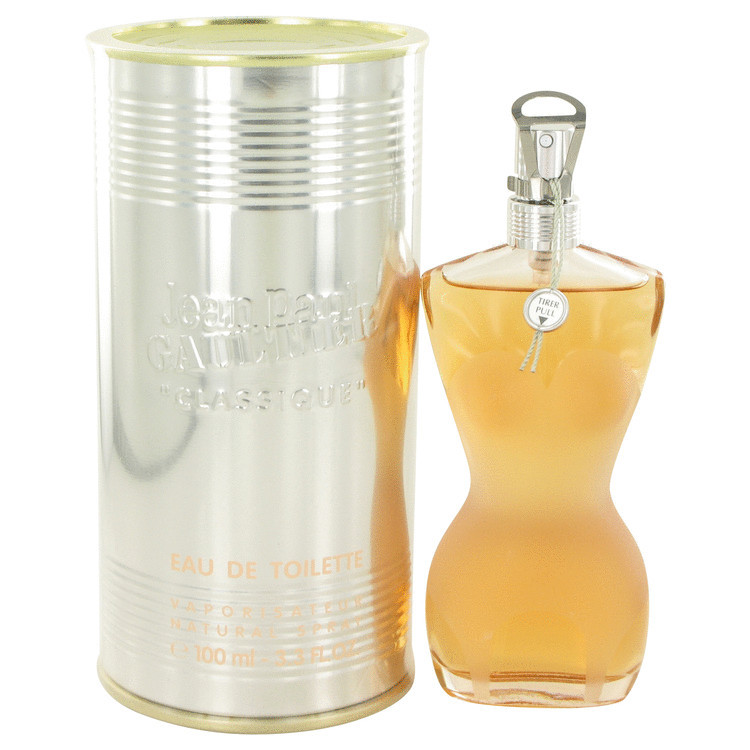 Womens Jean Paul Gaultier Perfume by Jean Paul Gaultier EDT Spray 3.3 oz