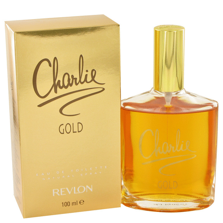Charlie Gold for Women by Revlon Edt Spray 3.3 oz
