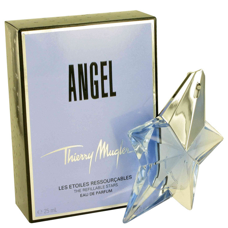 Angel Perfume for Women by Thierry Mugler Refillable Edp Spray .85 oz