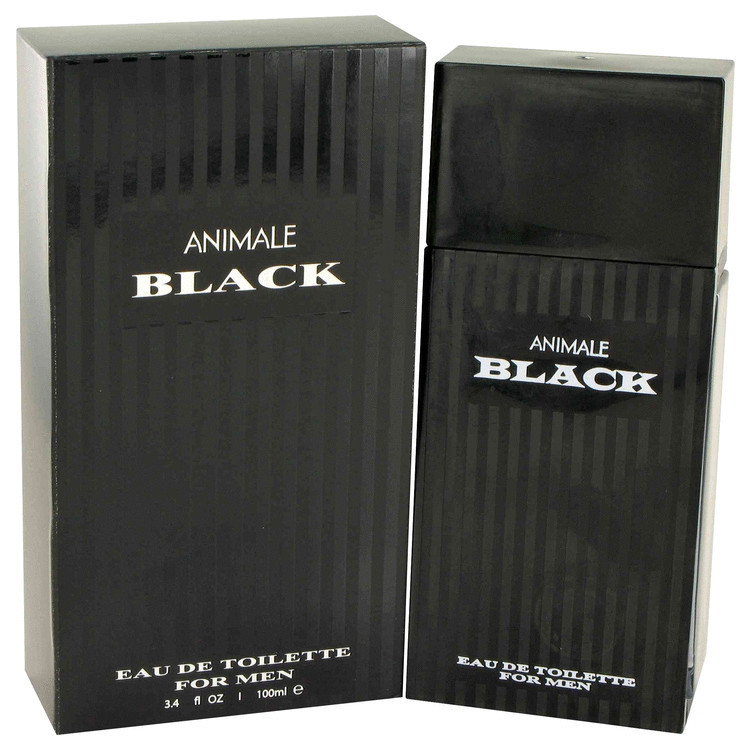 Animale Black Cologne for Men by Animale Edt Spray 3.4 oz