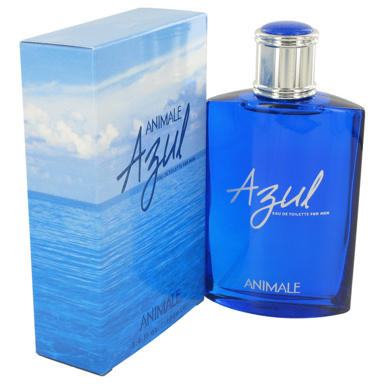 Animale Azul Cologne by Animale for Men Edt Spray 3.4 oz