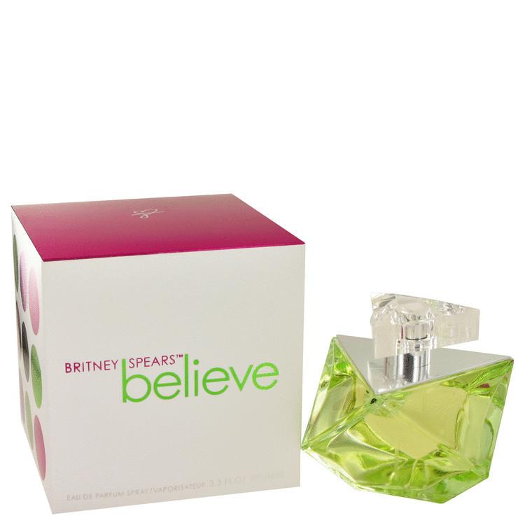 Believe Womens Perfume by Britney Spears Edp Spray 3.4 oz