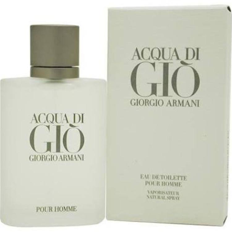 Acqua Di Gio by Giorgio Armani for Men - 3.4 oz EDT Spray