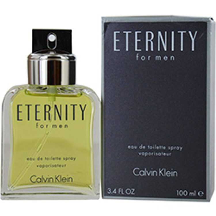 Calvin Klein Eternity for Men Eau De Toilette, 3.4 oz