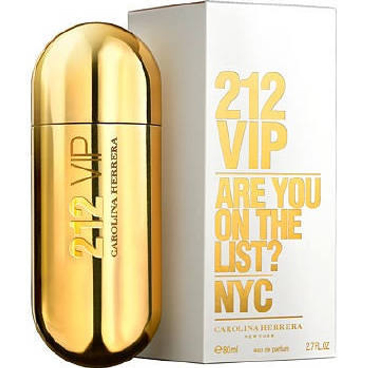 Carolina Herrera 212 VIP Are You on The List ? Perfume 2.7 oz EDP Spray for Women