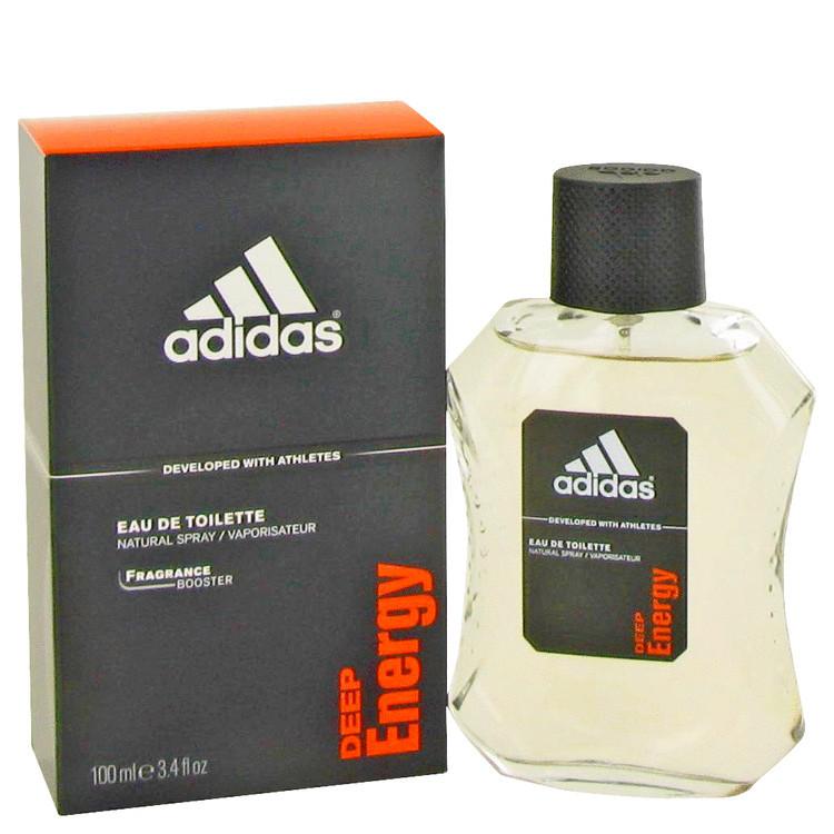 Adidas Deep Energy for Men Edt 3.4 oz