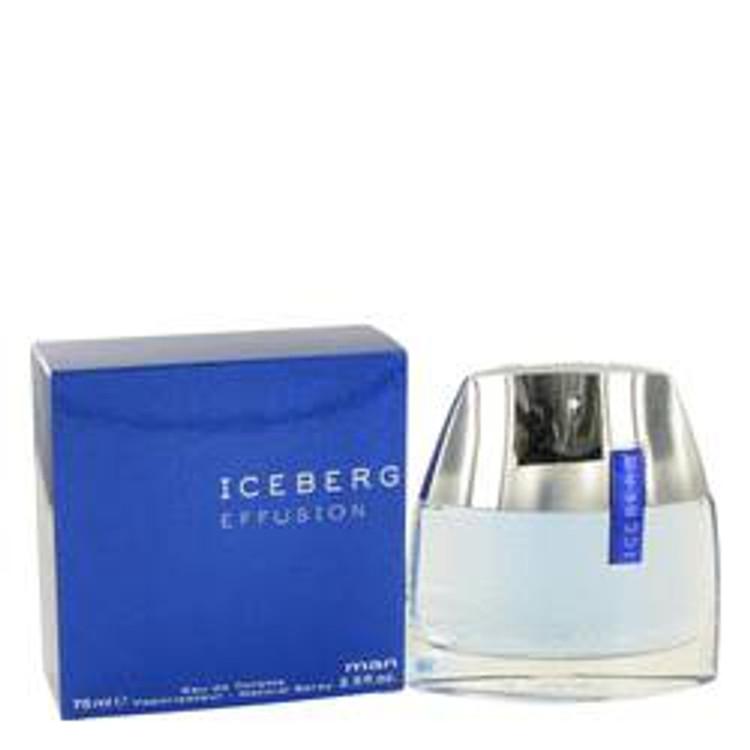 Effusion by Iceberg For Mens Edt Spray  2.5oz