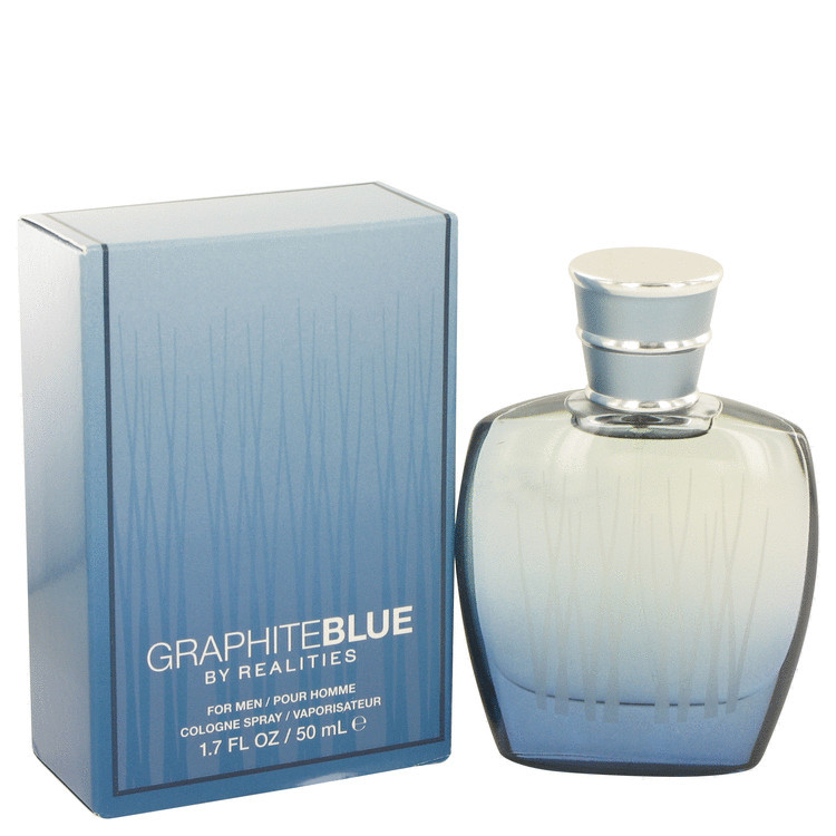 Realities Graphite Blue Men's Cologne Edt Spray 1.7oz