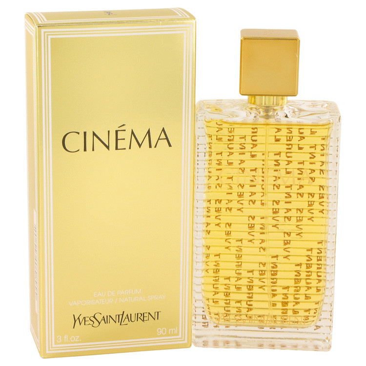 CINEMA FOR WOMEN by YSL EDP SPRAY 3 oz