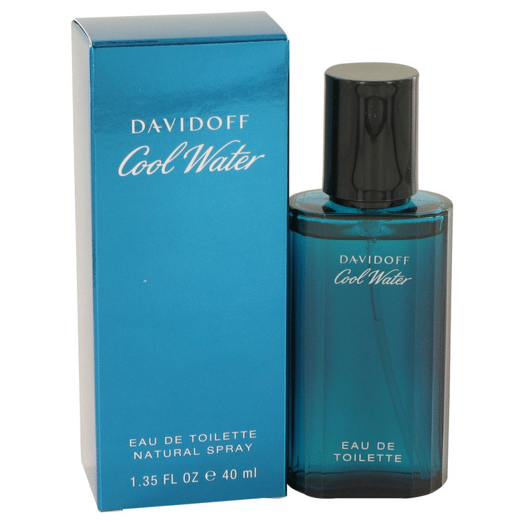 COOL WATER by Zino Davidoff 1.4oz for Men EDT Spray