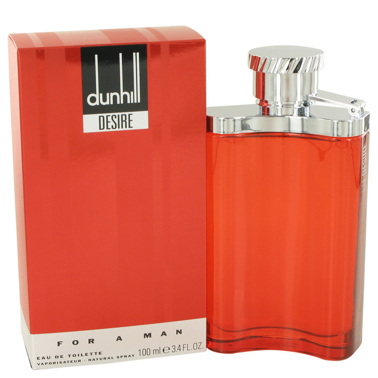 DESIRE RED LONDON by Alfred Dunhill 3.4 oz EDT Men's Spray