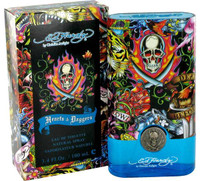 Mens ED Hardy Hearts & Daggers Cologne by Christain Audigier Edt Spray 3.4 oz