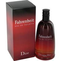 Fahrenheit Mens Cologne by Christain Dior Edt Spray 3.4 oz
