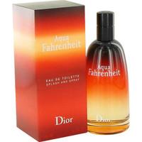 Fahrenheit Aqua Cologne Mens by Christain Dior Edt Spray 4.2 oz