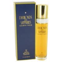 Diamonds & Saphires Womens Perfume by Elizabeth Taylor Edt Spray 3.3 oz